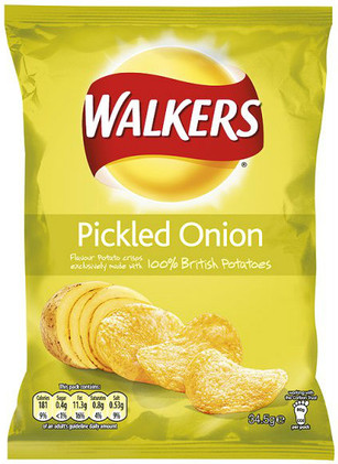 Walkers Crisps - Pickled Onion