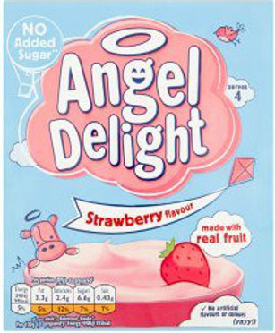 Birds Angel Delight - Strawberry 59g