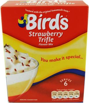 Birds Trifle Mix - Strawberry