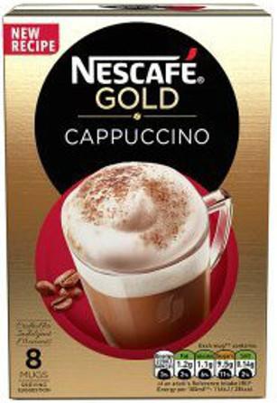 Nescafe Gold Cappuccino 8 Sachet Pack 136g