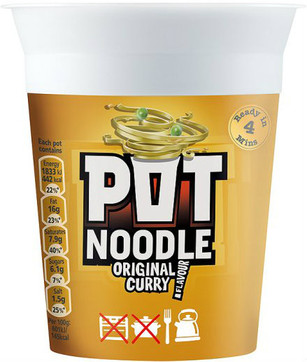Pot Noodle - Curry 90g