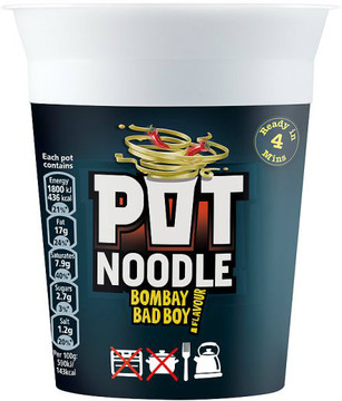 Pot Noodle - Bombay Bad Boy 90g