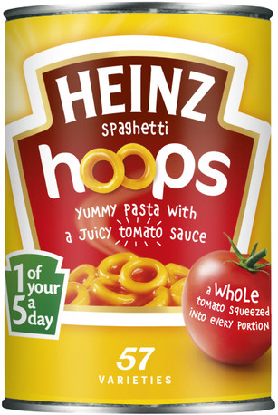 Heinz Spaghetti Hoops 400g