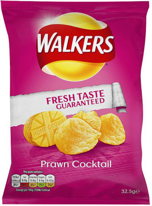 Walkers Prawn Cocktail Case of 48
