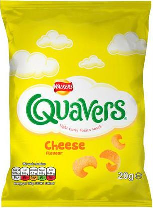 Quavers 21g - Case of 32