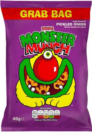 Monster Munch Big Grab Bag 40g - Case of 30
