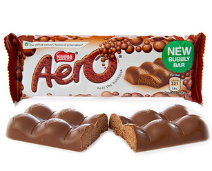 Aero Milk Chocolate 36g 8 Pack