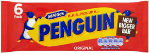 McVities Penguin - 6 pack