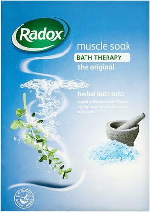 Radox Herbal Bath Salts - Muscle Soak with Thyme 400g