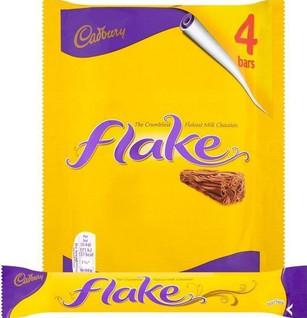 Flake Bar 4 pack 80g