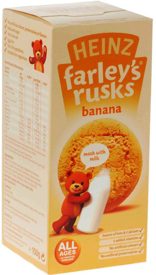 Farleys Rusks - Banana 9 Pack