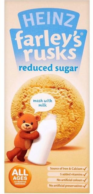 Farleys Rusks Reduced Sugar 9 Pack