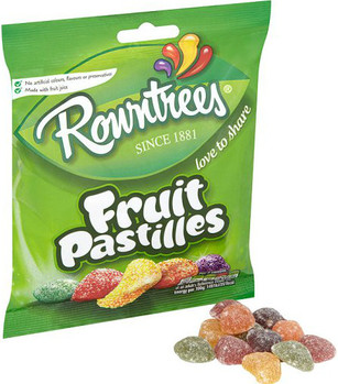 Rowntree Fruit Pastilles Bag 120g
