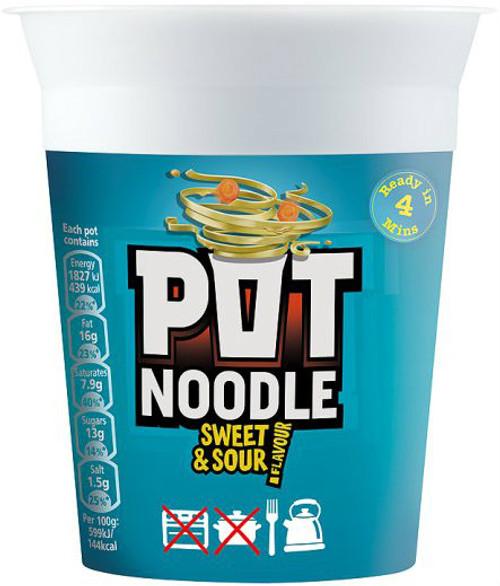 Pot Noodle - Sweet & Sour 90g