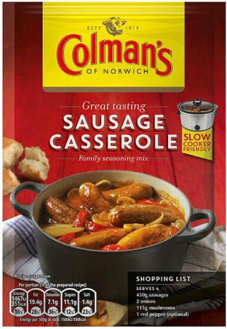 Colmans Sausage Casserole Mix