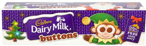 Chocolate Buttons Tube 72g