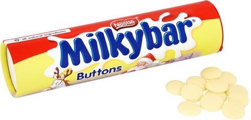 Nestle Milkybar Buttons Tube 100g