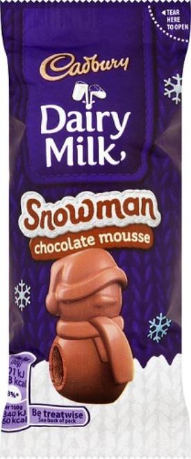 Chocolate Mousse Snowman 30g