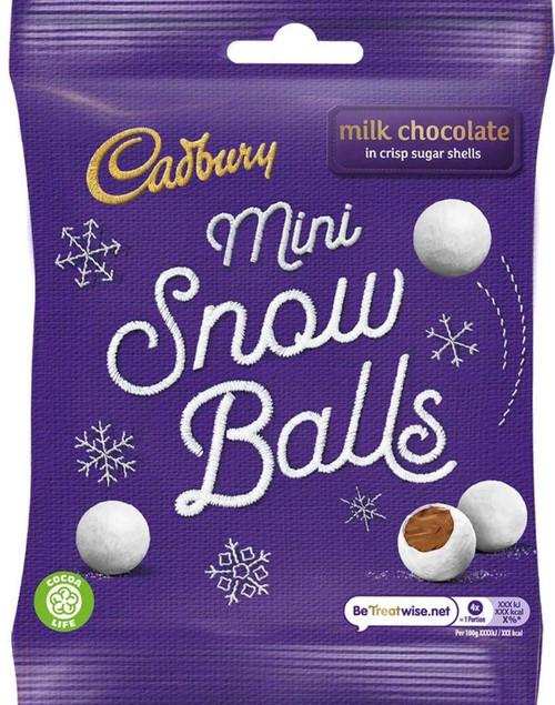 Chocolate Snow Balls 80g