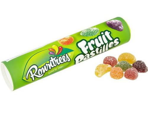 Rowntree Fruit Pastilles Giant Tube 125g