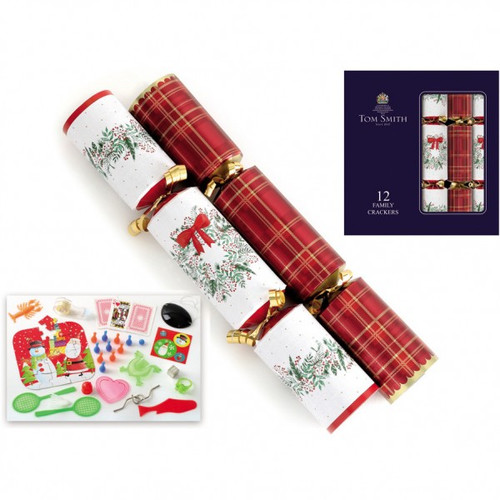 Tom Smith Traditional Family Christmas Crackers 12 Pack