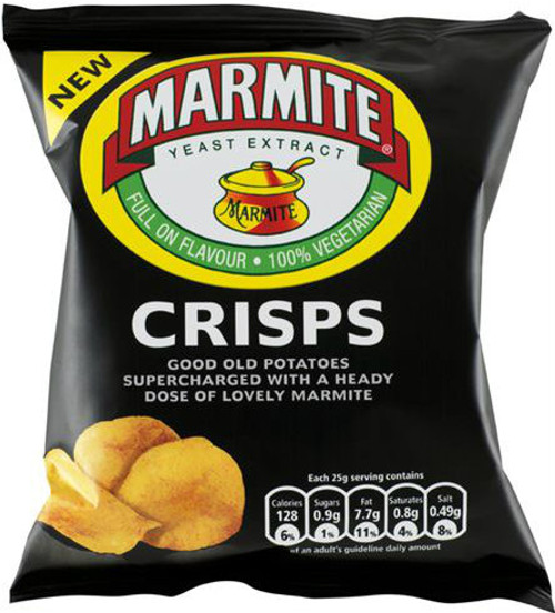 Walkers Marmite Crisps 32.5g