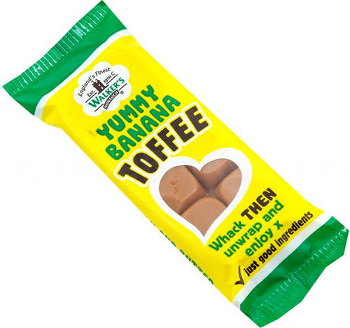 Walkers Non Such Toffee Bar 50g Banana Split