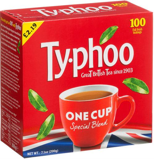 Typhoo Tea Bags 100 Pack