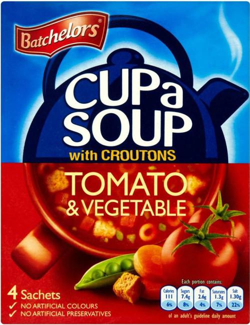 Batchelors Cup A Soup - Rich Tomato & Vegetable 104g