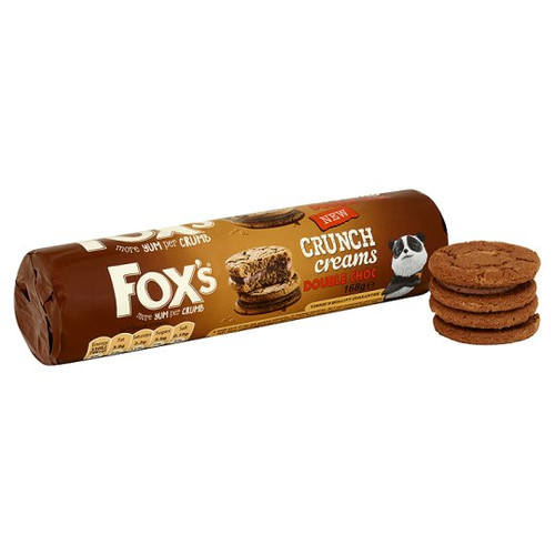 Foxs Double Chocolate Crunch 230g