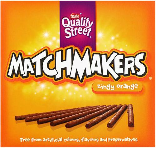 Nestle Matchmakers Orange 120g *BEST BEFORE NOVEMBER 30 2019*