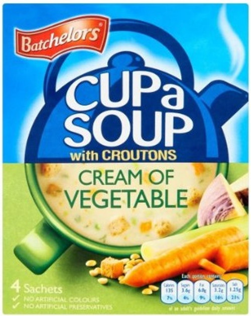 Batchelors Cup A Soup Cream Of Vegetable 120g