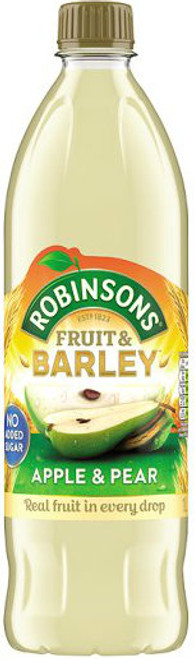 Robinsons NAS Fruit & Barley - Apple & Pear 1 Ltr