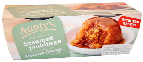 Aunty's Golden Syrup Pudding 2 x 95g