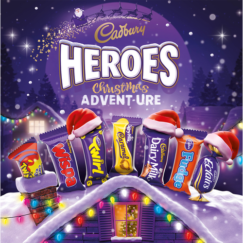 Heroes Large Milk Chocolate Advent Calendar 232g