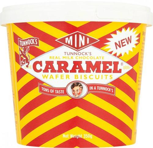 Tunnocks Mini Caramel Wafers Tub 350g