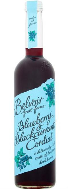 Belvoir Cordial Blueberry & Blackcurrant 500ml