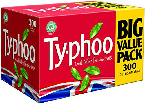 Typhoo One Cup Teabags 300 Pack