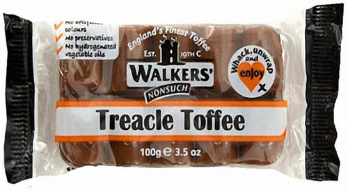 Walkers NonSuch Treacle Toffee Bar 100g