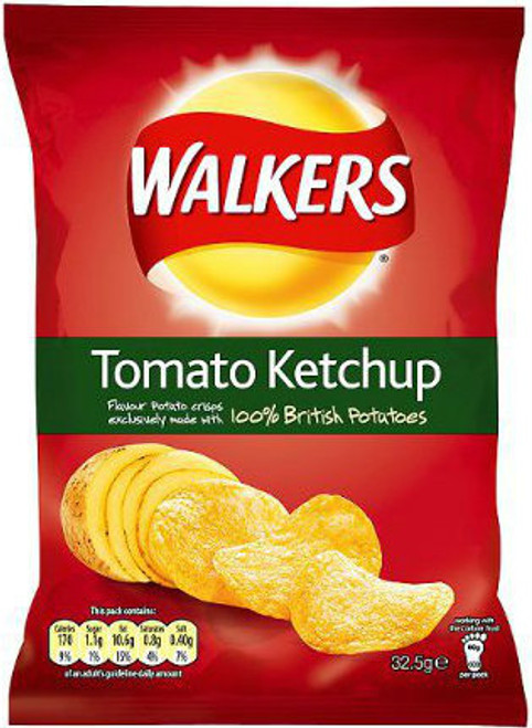 Walkers Tomato Ketchup 34g