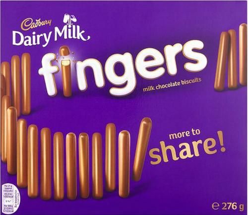Dairy Milk Big Fingers 570g