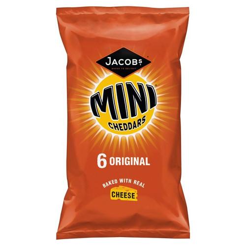 Jacobs Mini Cheddars Multipack 6 x 25g