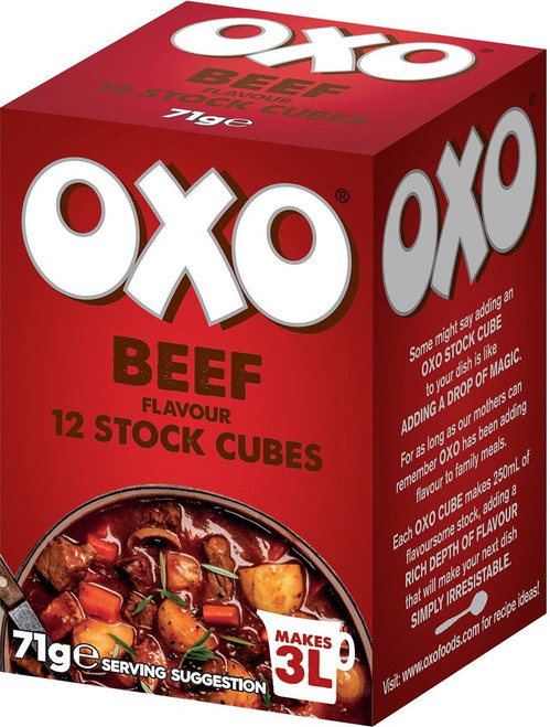 OXO Cubes Beef Flavour 71g