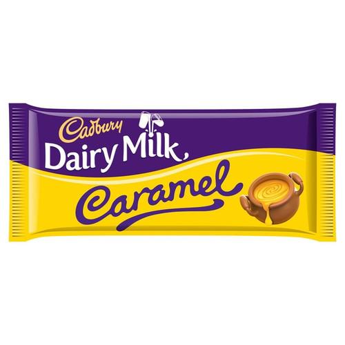 Dairy Milk Caramel Large Bar 120g