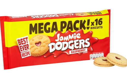 Burton's Jammie Dodgers Twin Pack 280g