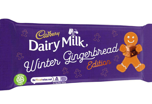 Dairy Milk Winter Gingerbread Edition 120g