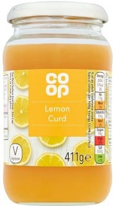 Co-op Lemon Curd 411g
