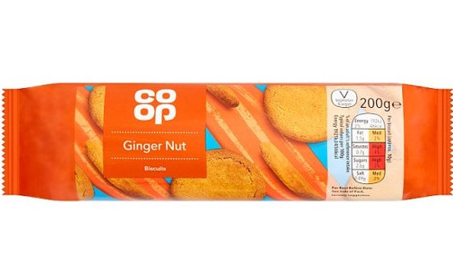 Co-op Ginger Nuts 200g