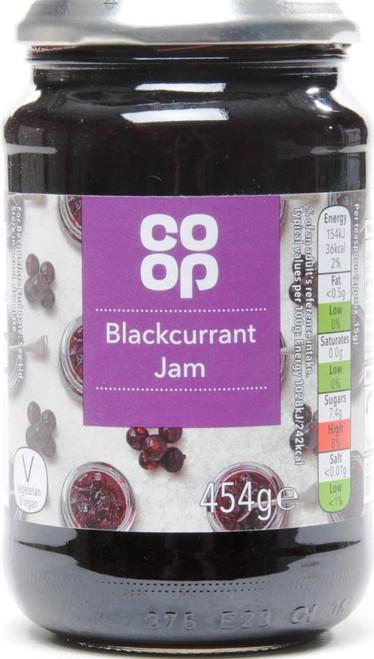Co-op Blackcurrant Jam 454g