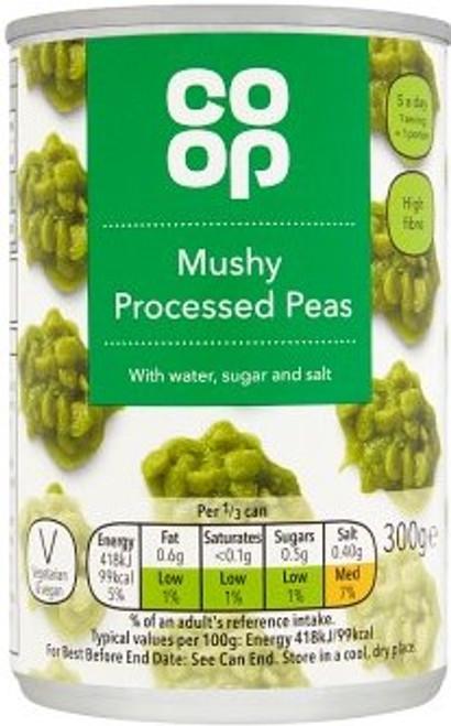 Co-op Mushy Peas 300g